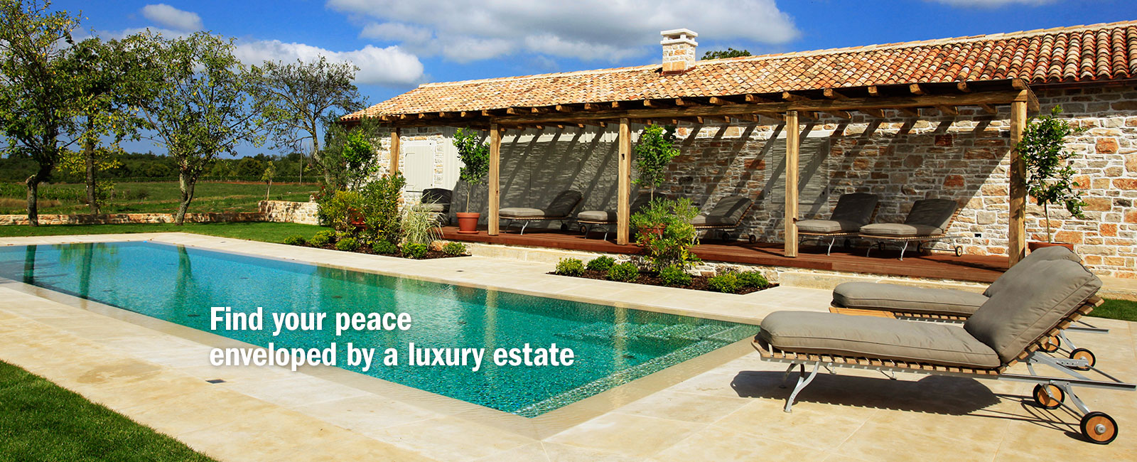 Perfect luxury holiday in Istria